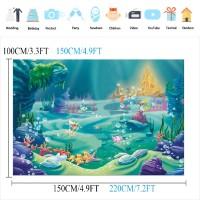 jual layar backdrop background prop fotografi gambar rumput laut biru kota cimahi rhi3na shop tokopedia idr