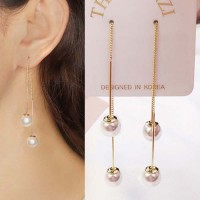 Simple Frost Ball Earrings Earrings 02C895r