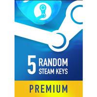 Random Premium Steam Keys (5 Games)