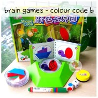 Zoetoys Brain Games - Colour Code B | mainan edukasi | mainan anak