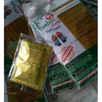 Koyo Kaki Bamboo - Bambo Foot Patch - Gold - bambu Kiyome Original