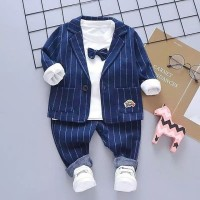 Setelan formal bayi laki laki model jas