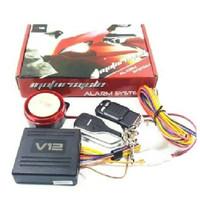 Alarm System Motor V12 By VINYX Remote Stater Jarak Jauh Universal