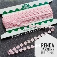 Renda jasmine melati ROL BABY PINK