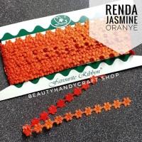 Renda jasmine melati ROL ORANYE