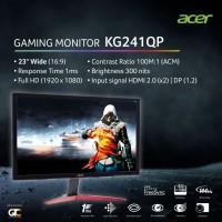 """Acer KG241Q P Gaming Monitor 24"""" FHD 1ms 144Hz Garansi Resmi Acer 3 Th"""