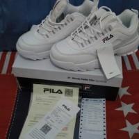 SEPATU FILA original / sneakers putih / fila korea
