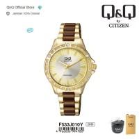 Q&Q QnQ QQ Original Jam Tangan Wanita Analog - F533 F533J Water Resist