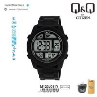 Q&Q QnQ QQ Original Jam Tangan Pria Digital Rubber - M123 M123J