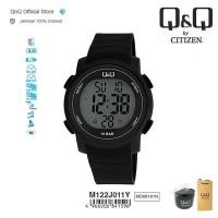 Q&Q QnQ QQ Original Jam Tangan Pria Digital Rubber - M122 M122J