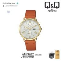 Q&Q QnQ QQ Original Jam Tangan Women's Fashion Leather - AA37 AA37J