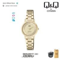 Q&Q QnQ QQ Original Jam Tangan Wanita Rantai Analog - Q945 Q945J