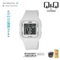 Q&Q QnQ QQ Original Jam Tangan Pria Digital Rubber - M158 M158J