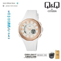 Q&Q QnQ QQ Original Jam Tangan Pria Analog - GW91 GW91J Water Resist