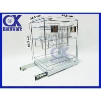 PROMO Rak Piring Rak Botol Drawer Basket OK 025E for Kitchen Cabinet