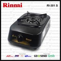 Kompor Gas Tekanan Rendah 1 Tungku Rinnai RI 301S