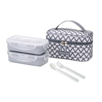 Lock Lock Lunch Box With Clover Bag
