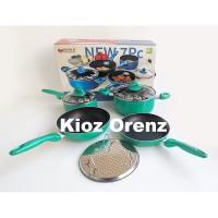 KiozOrenz SUPRA Rosemary Cookware Set 7 Pcs PANCI SUPRA Set Teflon Ant