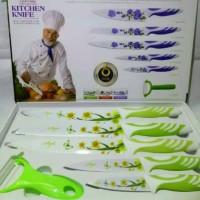 Pisau Ceramic Kitchen King Set 6 pcs
