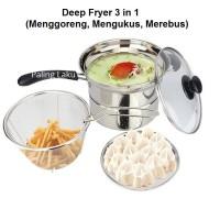 Paling Laku Deep Fryer Alat Masak Serbaguna 1 Alat 3 Fungsi