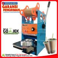 Q2 Sealing Machine Mesin Cup Sealer Press Gelas Plastik Minuman