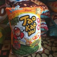 bantal snack motif