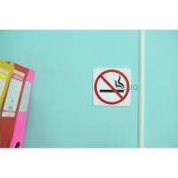 Sign No Smoking Akrilik / Tanda Dilarang Merokok Akrilik