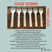GARPU SENDOK /GASE 105mm PRINT LOGO