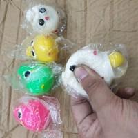 Splat toy mainan anti stress splat egg toy ball squishy telur