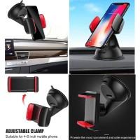 Car Holder Universal Mobil Silicone Sucker Dudukan Smartphone Dashboar