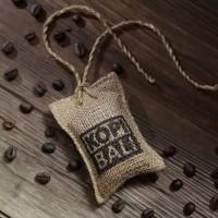 Parfum kopi bali sachet Mobil Gantung Pengharum ruangan Biji Kopi