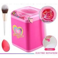 Makeup Brush Cleaner Mesin Cuci Mini mainan pembersih alat Kosmetik