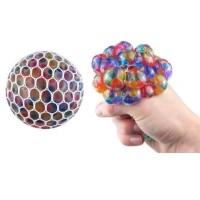 Mesh ball squishy rainbow pelangi besar mainan anti stress