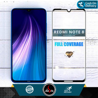 Aladoy Tempered Glass Xiaomi Redmi Note 8 Screen Protector Full Cover
