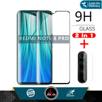 Paket Tempered Glass + Tempered Glass Camera Xiaomi Redmi Note 8 Pro