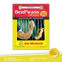 Air Mancur Serbuk Benpwass Plus PB Sachet 10x7 gr - Pack
