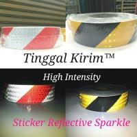 "Sticker Reflective High Intense SPARKLE 2"" / Stiker Reflektif Mantul"