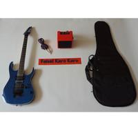Gitar Ibanez Premium Paketan Ampli, Kabel Jack Dan Tas