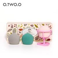 O.Two.O Beauty Blender Set 3Pcs + Drying Holder