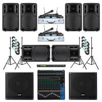 Paket Sound System Professional D Maxx Audio Pro