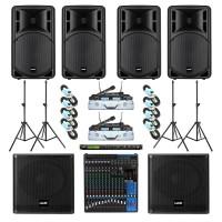 Paket Sound System Professional C Maxx Audio Pro