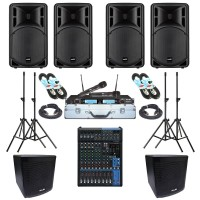 Paket Sound System Meeting G Maxx Audio Pro