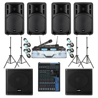 Paket Sound System Professional B Maxx Audio Pro