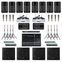 Paket Sound System Professional E Maxx Audio Pro
