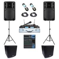 Paket Sound System Meeting E Maxx Audio Pro