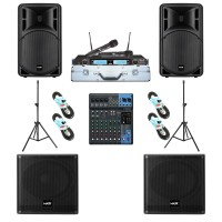 Paket Sound System Professional A Maxx Audio Pro