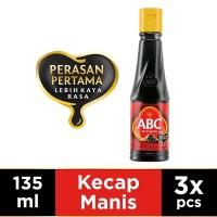 ABC Kecap Manis 135 ml - Multi Pack 3 pcs