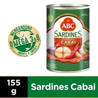 ABC Sarden Saus Cabai 155 g