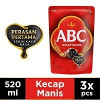 ABC Kecap Manis 520 ml - Multi Pack 3 pcs