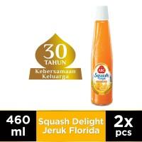 ABC Sirup Squash Delight Jeruk Florida 460 ml - Twin Pack